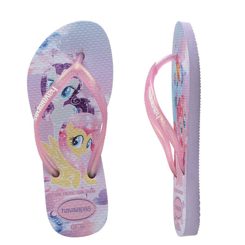 Kids Slim My little Pony Lavender Thongs