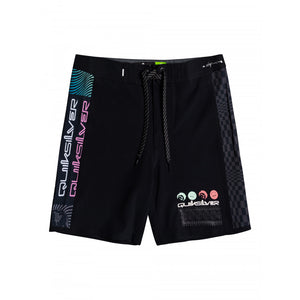 Boys Highline Arch Rave Wave Boardshorts