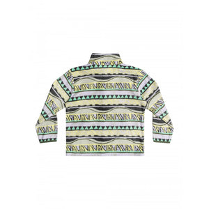 Boys Tropic Zipped High Collar Sweatshirt