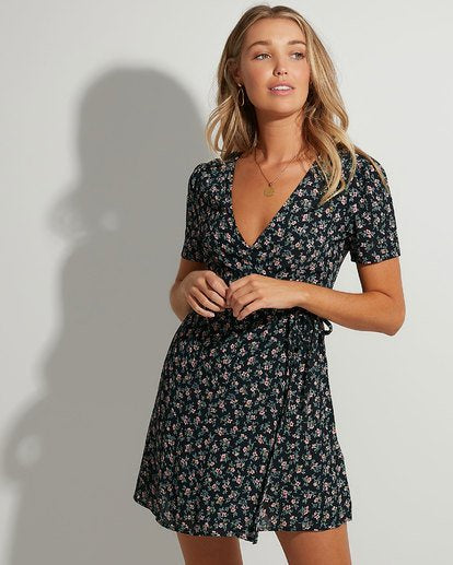 Bloom Wrap Dress
