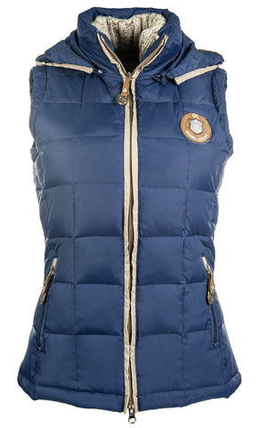 Roma Quilted Gilet / Body Warmer - Lauria Garrelli