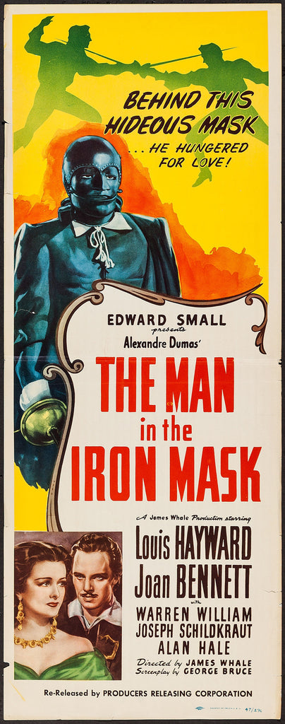 The Man in the Iron Mask (R - 1947)