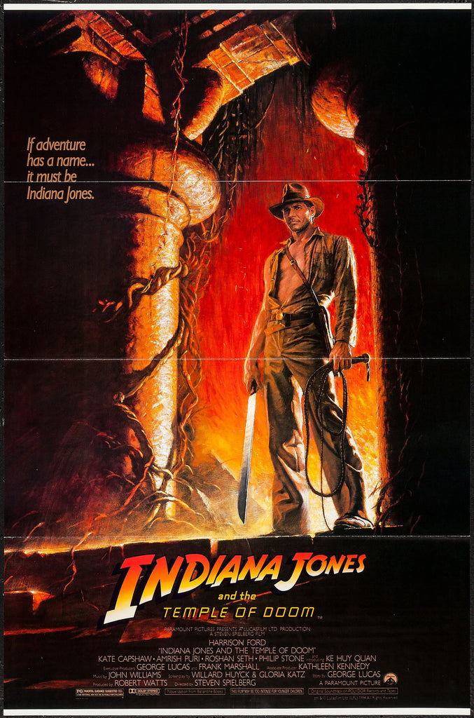 Indiana and the Temple of Doom