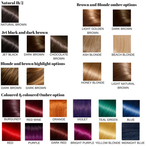 Colour Chart Pride And Prestige Hair