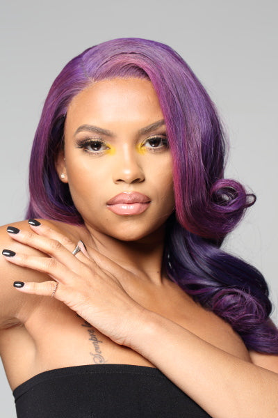 Purple Hair Bundles - Nu Hair