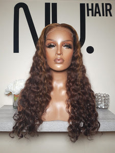 "Hadiza - 22"" Brown Curly - sold out!"