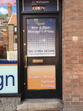 One way window graphics - Contra Vision®