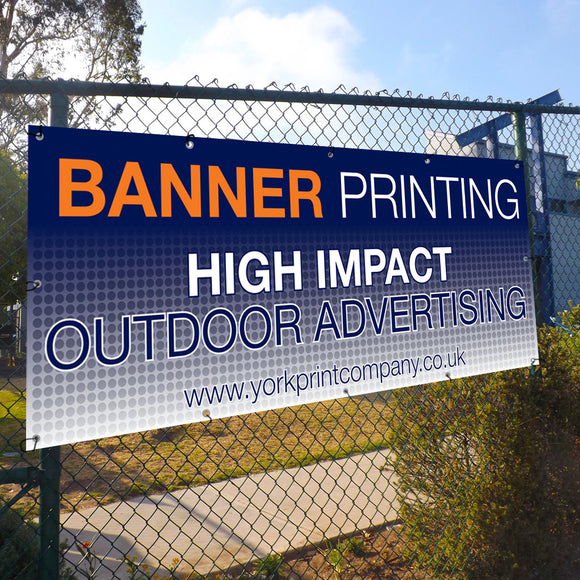 Outdoor banners - York Print Company
