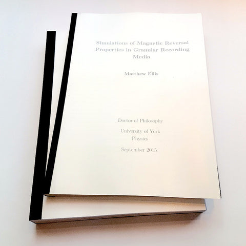 Uk dissertation binding