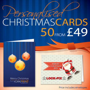 A5 Christmas Cards - Greetings Cards - York Print Company