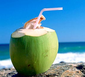 Coconut water – the healthiest water there is!