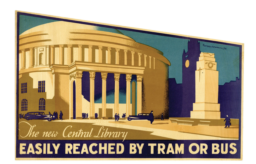 Central Library poster
