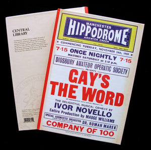 Manchester Hippodrome advertisment for the Didsbury Amateur Operatic Society  production of Ivor Novello's 'Gay's The Word'.