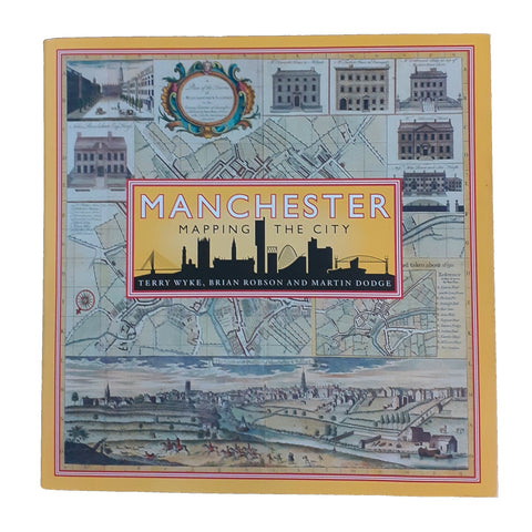 Manchester: Mapping the City book cover.