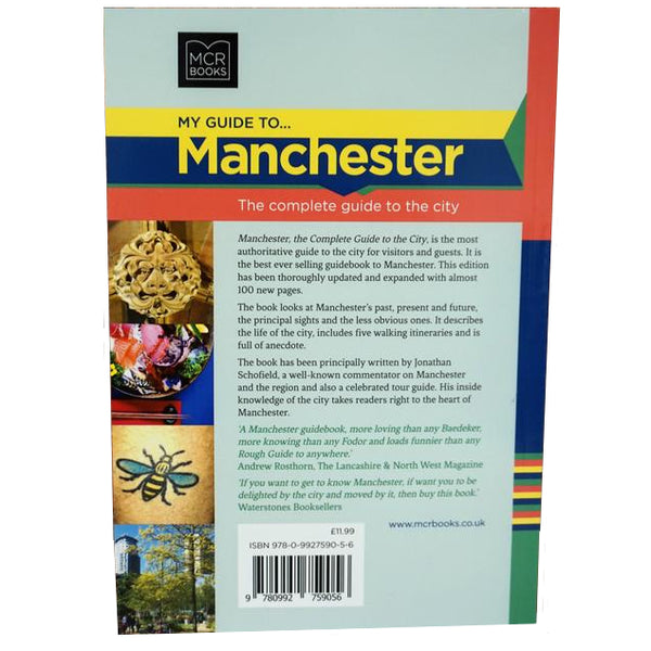 My Guide to Manchester by Jonathan Schofield  back cover
