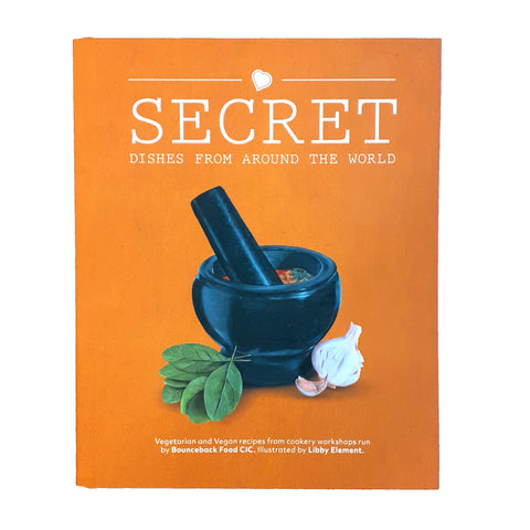 Secrect Dishes from around the world cookbook