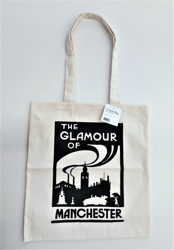 Glamour of Manchester Tote Bag