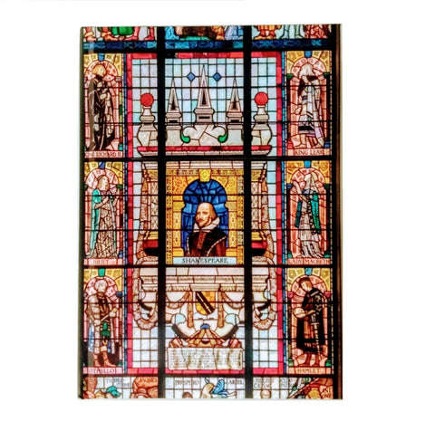 A5 Shakespeare Hall Window Notebook