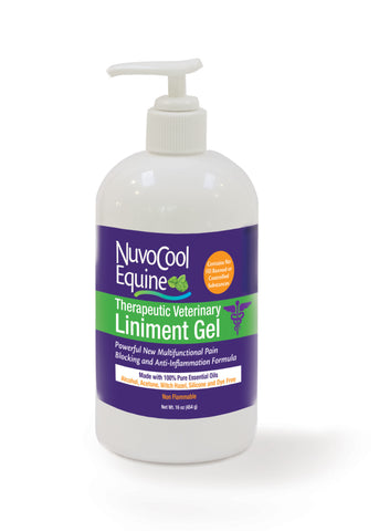 NuvoCool Therapeutic Veterinary Liniment Gel 16 oz.