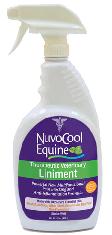 NuvoCool Therapeutic Veterinary Liniment Spray 32 oz.