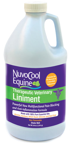 NuvoCool Therapeutic Veterinary Liniment 64 oz.