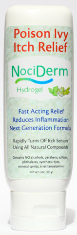 NociDerm Natural Poison Ivy Anti-Itch Gel