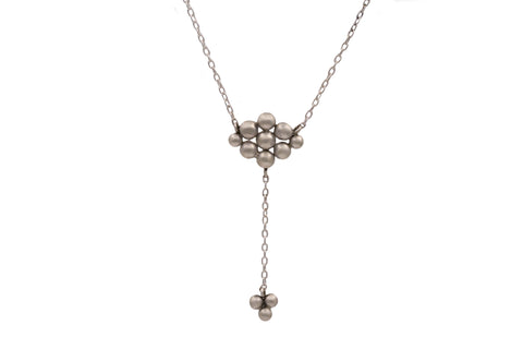 Sterling Silver Argyle Y Necklace