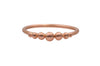 14k Rose Gold Granule Ring