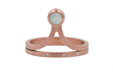 Rooney Ring - Rose Gold