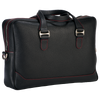City Briefcase: Black - Red -  Leather-good - Raidillon