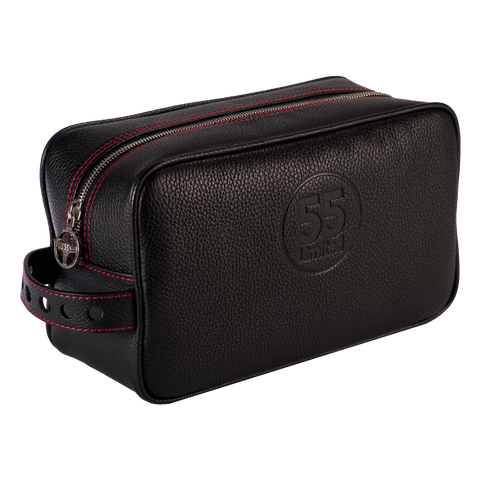 Dopp Kit: Black - Red