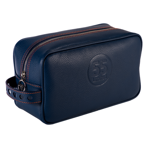 Dopp Kit: Navy - Orange