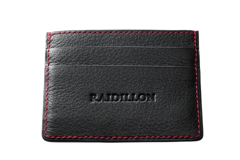 Card Holder - Black -  Leather-good - Raidillon