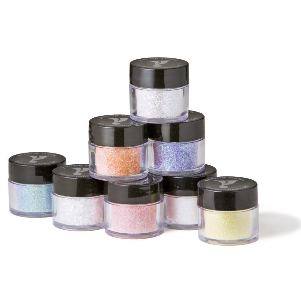 Heavenly Glitter Collection 8 piece Kit  - YoungNails