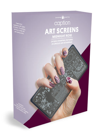 Young Nails - Art Screen - Midnight Rose