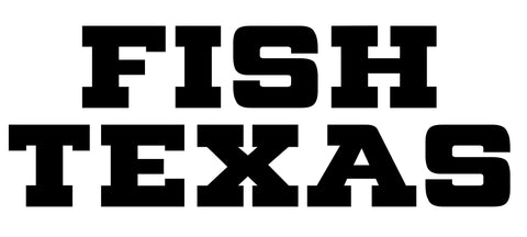 Fish TX Decal (3 Color Options)