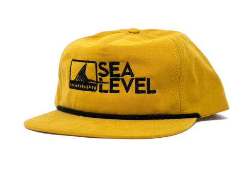 Sea Level Rope Hat - Yellow