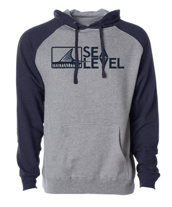 Sea Level Logo Hoodie (2 Color Options)