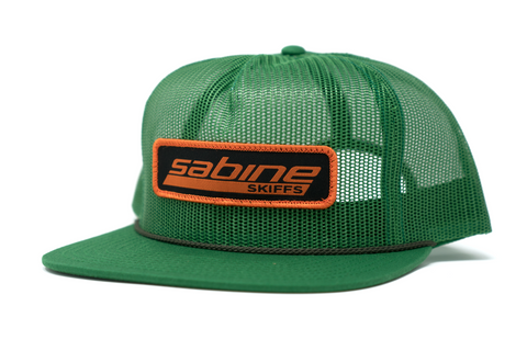 Sabine Patch Hat - Green