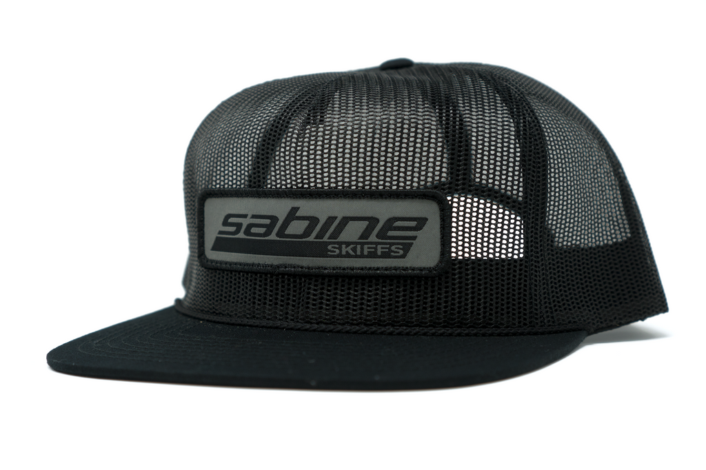 Sabine Patch Hat - Black