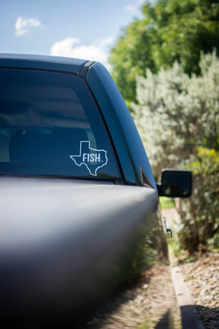 Fish. Texas Decal