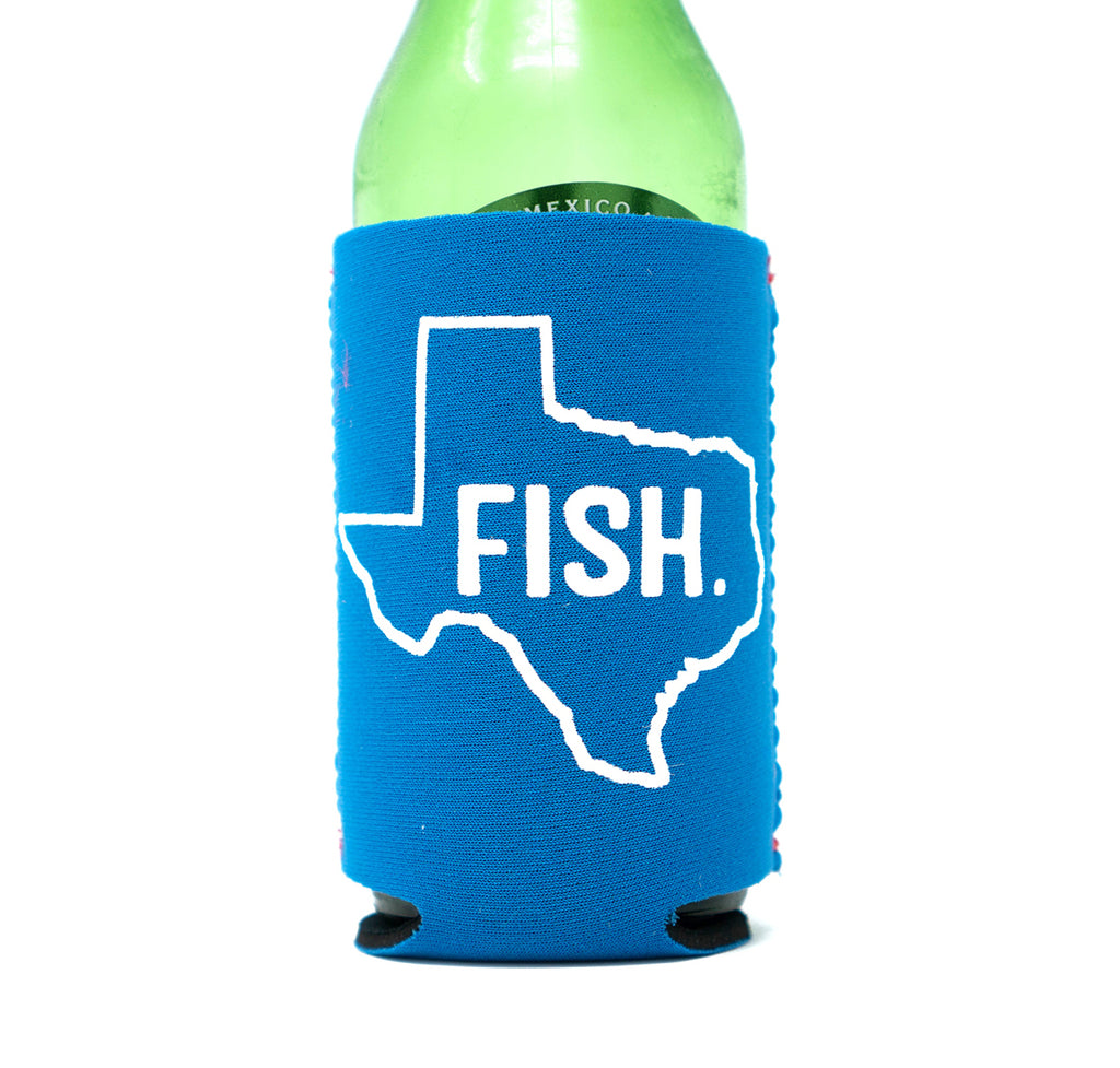 Fish Texas Koozie