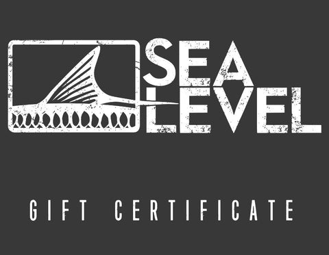 Sea Level Gift Certificate