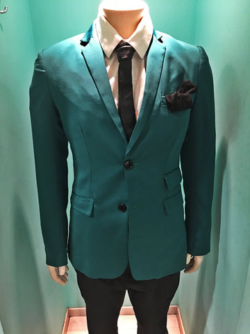 Men emerald jacket VK Men Collection