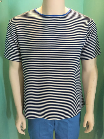 New SS 2017 short sleeve men Tshirt Light blue