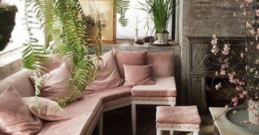 Room Inspiration: Soft Bohemian
