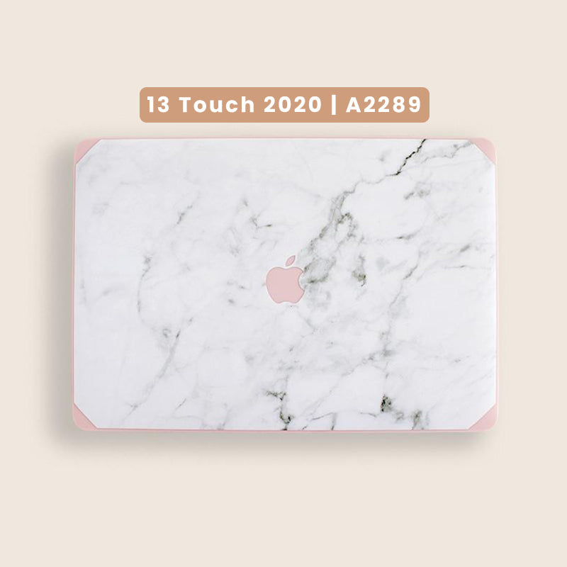 13 Pro Touch Bar 2020 PREORDER | Pink and Marble Macbook Case