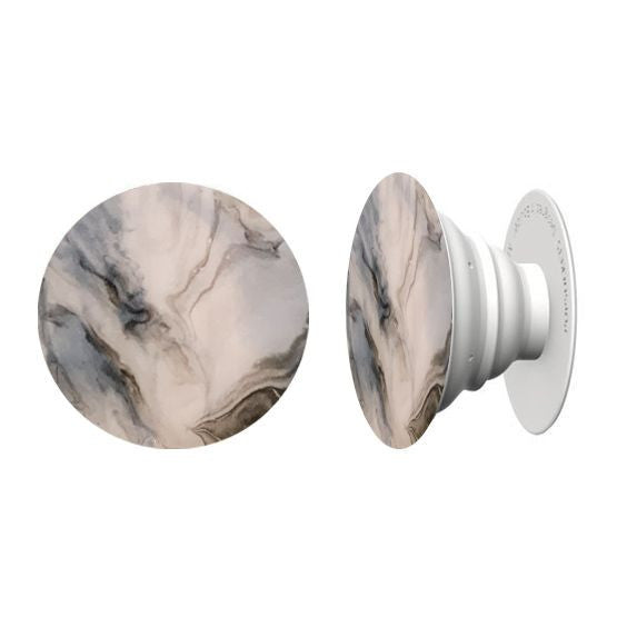 Marble Haze Hand Painted Pop Socket