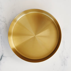 Gold Plant Tray