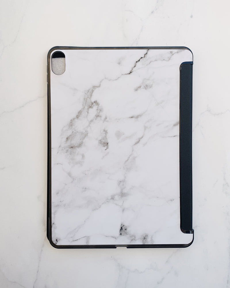 Black and White Marble Ipad